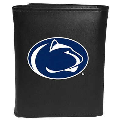 Penn State Nittany Lions Leather Tri-fold Wallet, Large Logo