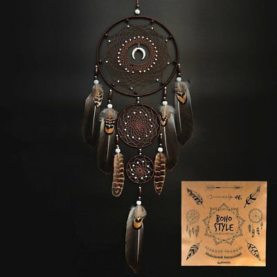 Dream Catcher Handmade Wall Hanging Decor Large Dream Catchers with Feathers
