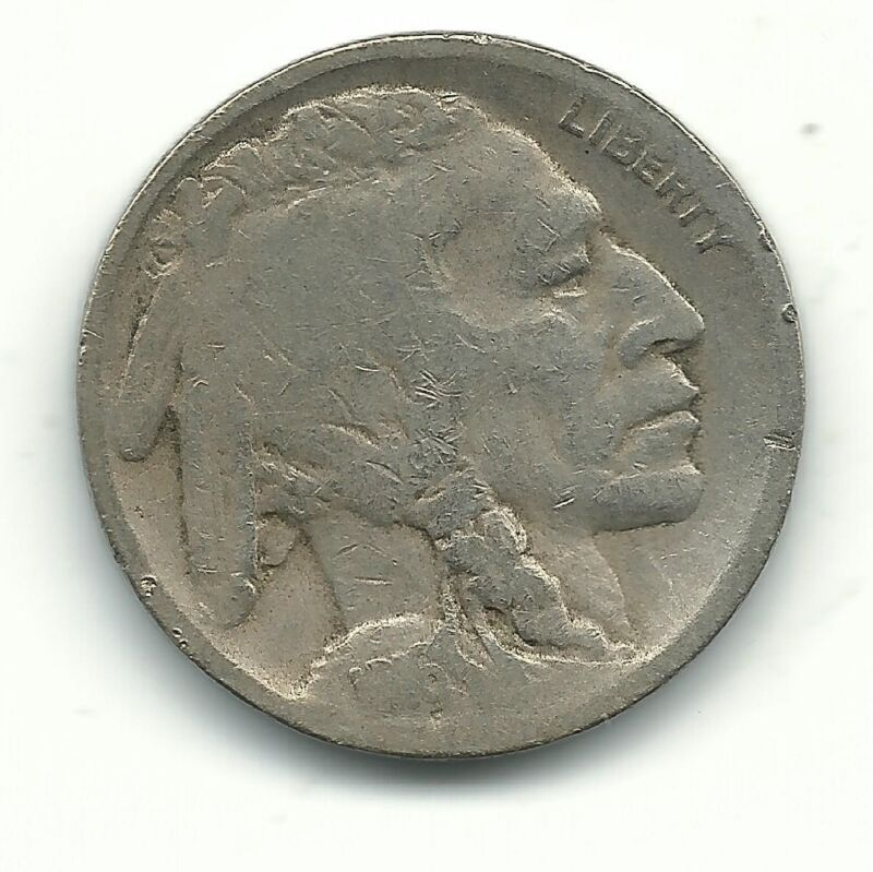 A NICE VINTAGE BETTER DATE 1916 S BUFFALO NICKEL COIN-OLD US COIN-SEP912
