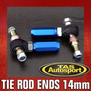 Adjustable-Tie-Rod-Ends-for-Nissan-Skyline-R34-14mm-Pillow-Ball-RB25-GTT-DRIFT