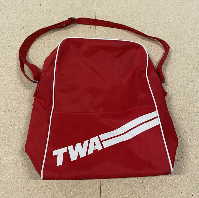 Vintage TWA Airline Bag Airlines Travel Bag