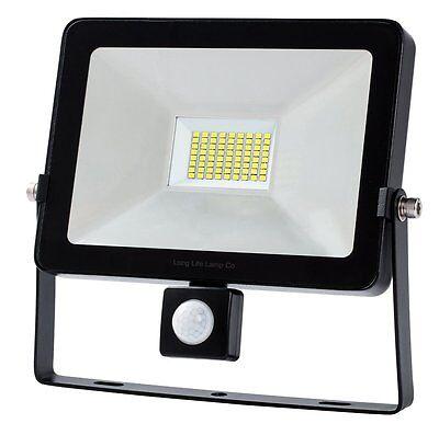 PIR LED Flood Light Outdoor Security Floodlight 20W 30W 50W Slimline