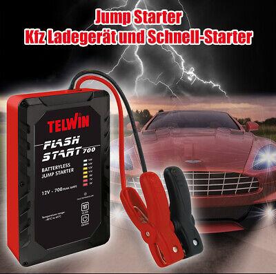 Starthilfe Kfz Ultra-Kondensatoren 12V 400/700A Flash Start 700 Jump