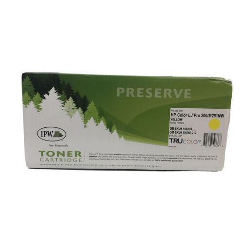 131a cf213a yellow printer toner cartridge new