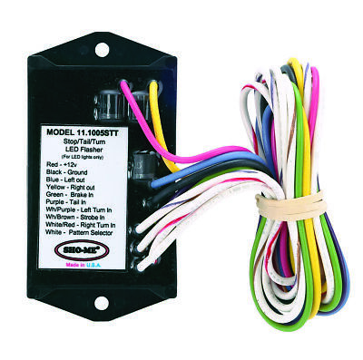 Sho-me Led Stop-tail-turn Flasher - 2 Output - Made In Usa