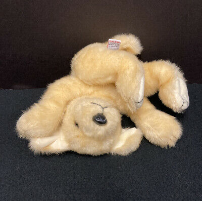 "TY Classic SUNNY DOG 13"" 1997 Floppy Golden Retriever Plush Soft Toy Stuffed"