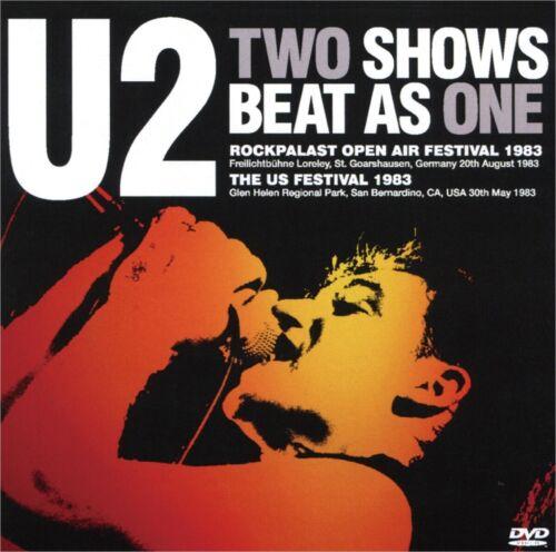 U2/ 1983 Rockpalast & US Festival Live Special Coupling DVD