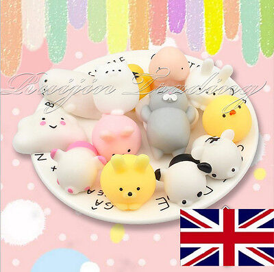 Super Slow Soft Rising Squishy Squeeze Cute Animal Expression Nice Kids kawaii