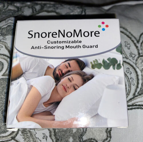 Snore No More Customizable Anti Snoring Mouth Guard With Nasal Dilators ThinkHat - $9.99