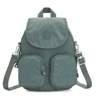Kipling FIREFLY UP Small Backpack Covertible To Shoulder Bag - Light Aloe