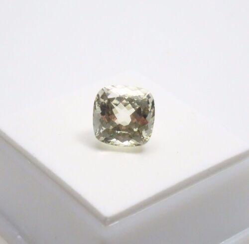 Canary Kunzite 5.0ct+ - 10x10mm - Cushion - Canary Kunzite Loose Gemstone