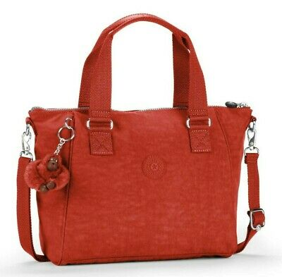 Kipling AMIEL Medium Handbag Red Rust