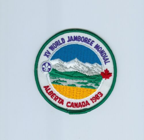 1983 World Jamboree patch