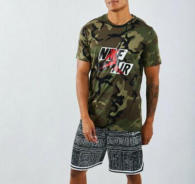 Nike Air Jordan Men's T Shirt Camouflage SIZE L