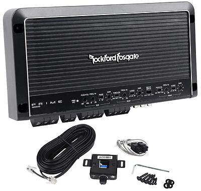 Rockford Fosgate Prime R600X5 600W RMS 5-Channel Car Audio Amplifier/Amp