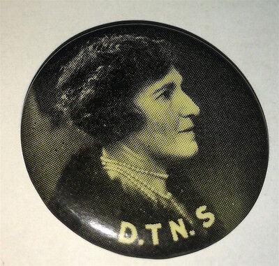 Rare District Trained Nurses Society World War I Australia Pinback Button! WWI
