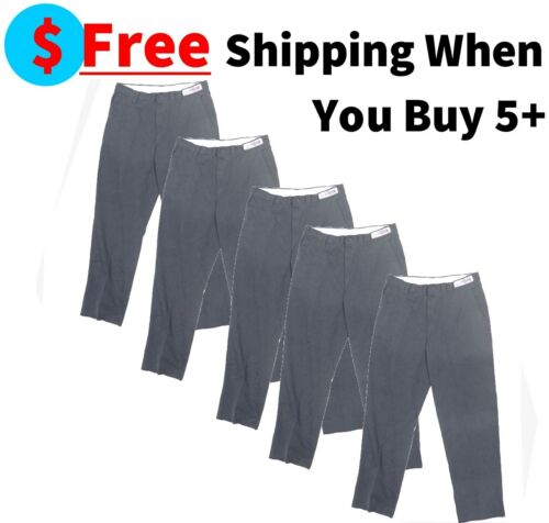 Used Charcoal Gray Uniform Work Pants Cintas, Unifirst, Dickies, Redkap Ect