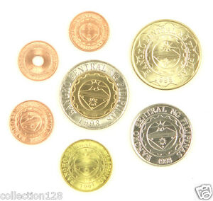 Philippines-coins-set-of-7-pieces-UNC