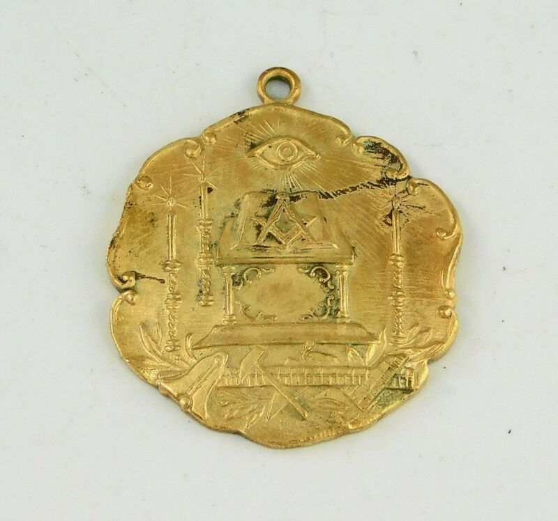 Vtg Masonic fob Cristobal Canal Zone Panama lot z783