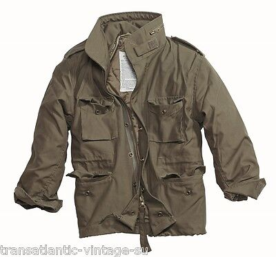 GIACCA DA CAMPO UOMO OLIVA M65 FIELD JACKET TIPO MILITARE ARMY FODERA  IMBOTTITA · Giacca Regiment ... 3fe1b6af13c