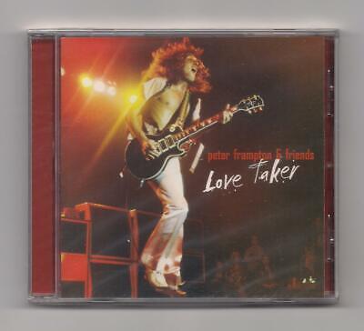 PETER FRAMPTON & Friends - Love taker CD SEALED Import