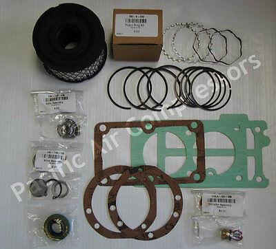 Emglo Jenny 610-1123 Ku101 Rebuild Kit Vstuk Wwearing Valve Parts Compressor
