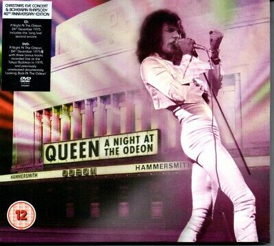 QUEEN - A NIGHT AT THE ODEON 1975 - CD & DVD ALBUM - NEW [SEALED]
