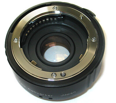 2X Teleconverter Lens fo Nikon D5000 D3000 D90 D80 D60 D3100 D5100 D7000 D3s cam, used for sale  Shipping to India