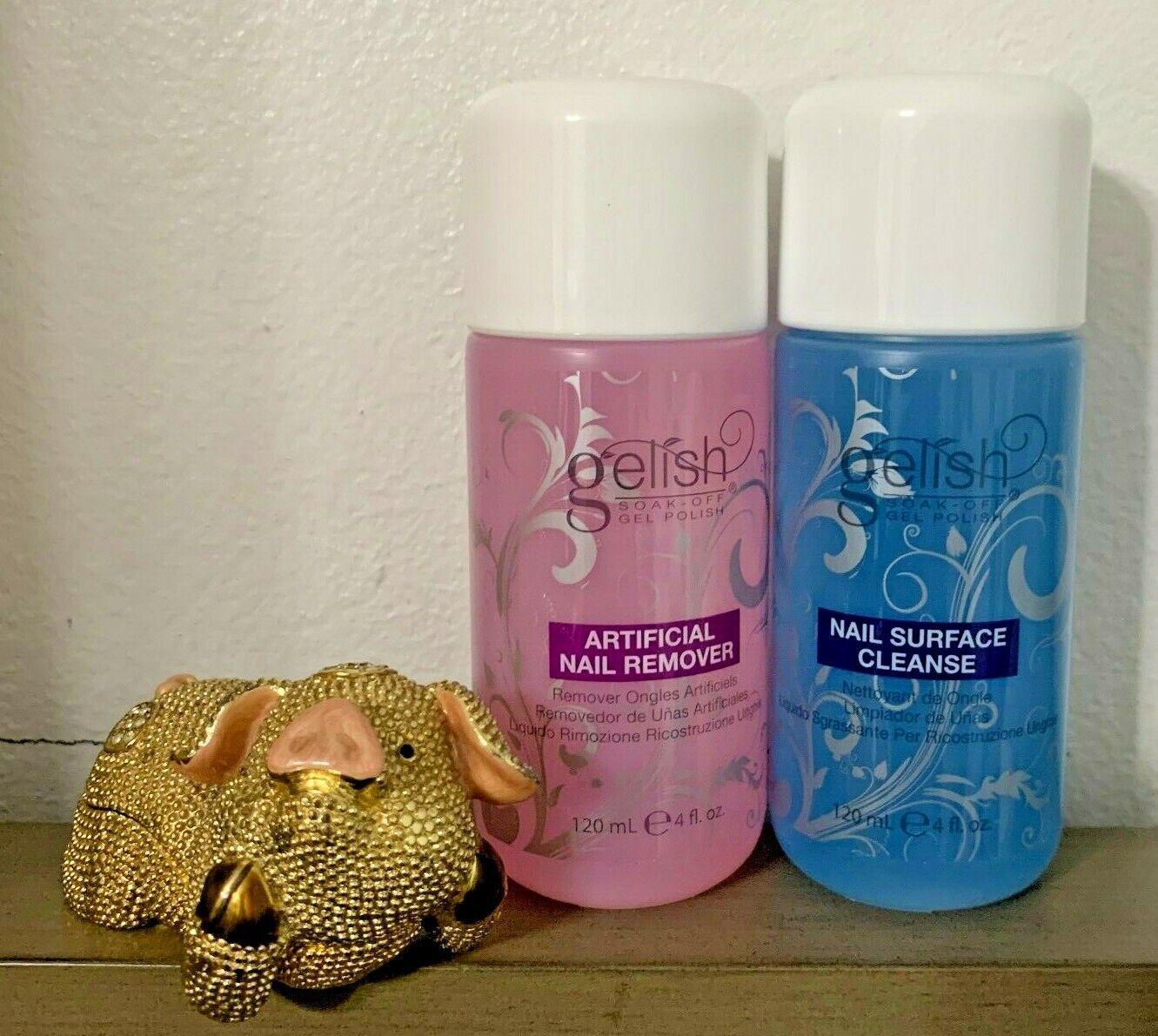 Harmony Gelish Soak Off Gel Polish Cleanser AND Remover 4oz