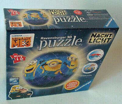Ravensburger Puzzleball 118175 - Minions Nachtlicht 72 Teile 6-10 Jahren Neu/New