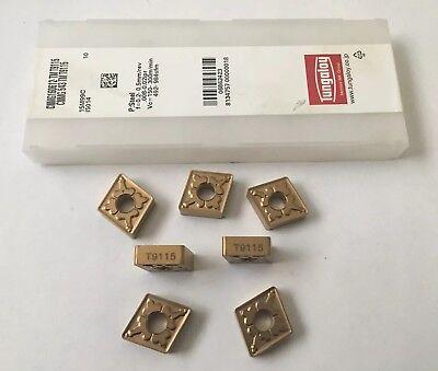 Tungaloy Carbide Inserts Cnmg160612-tm T9115 Quantity 7