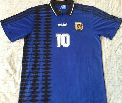 Camiseta Maglia Shirt ARGENTINA World Cup 1994 MARADONA away Size XL Retro...