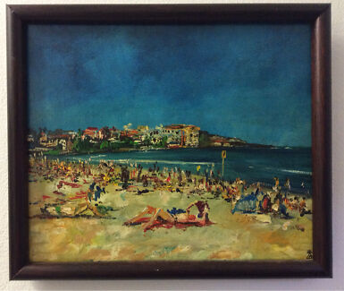 Azure Beach, Original Artwork by Dusan Malobabic,