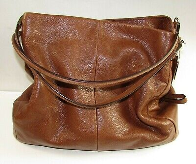 2013 Coach Leather Madison Phoebe Hobo Shoulder Bag Purse #24621