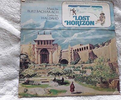 Bacharach & David - Lost Horizon OST  SYBEL 8000  UK LP 1973 Bell