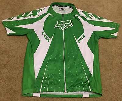 f3786207d FOX Professional Radsport Herren Cycling Jersey Shirt Top Men s Sz M