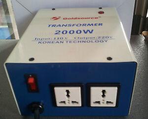 Transformateur 110v vers 220v