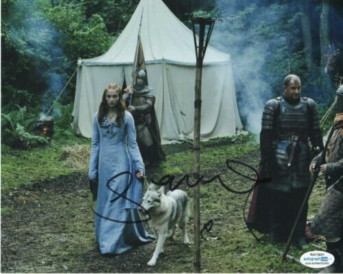 Sophie Turner Game of Thrones Autographed Signed 8x10 Photo ACOA