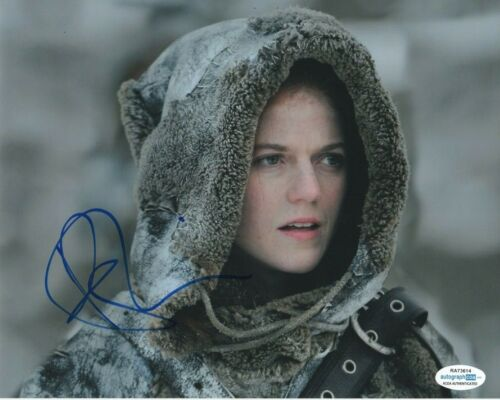 Rose Leslie Game of Thrones Autographed Signed 8x10 Photo ACOA