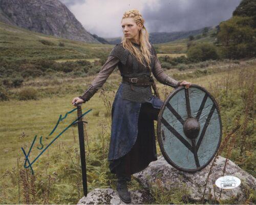 Katheryn Winnick Vikings Autographed Signed 8x10 Photo JSA COA