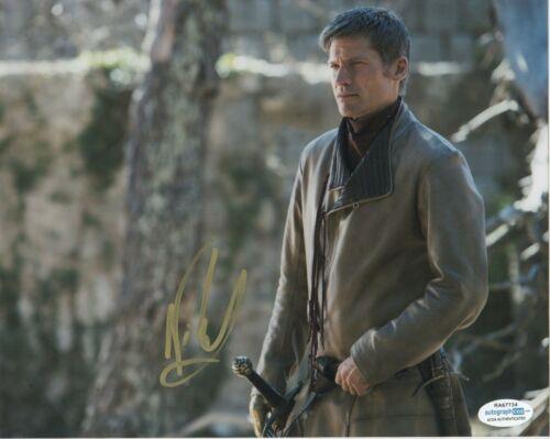Nikolaj Coster-Waldau Game of Thrones Autographed Signed 8x10 Photo ACOA  #4