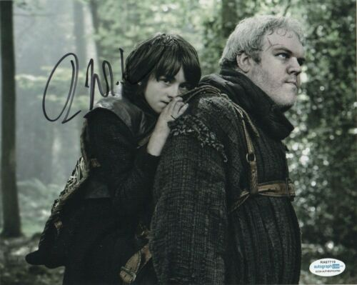 Isaac Hempstead Wright Game of Thrones Autographed Signed 8x10 Photo ACOA MA12