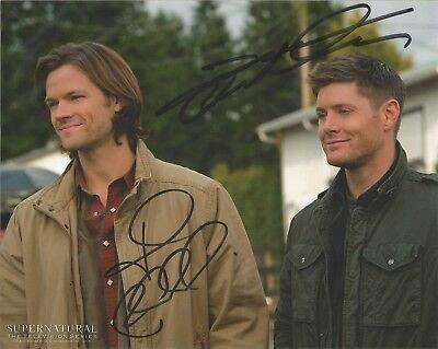 Jared Padalecki And Jensen Ackles Autographed Supernatural 8 X 10 Photo