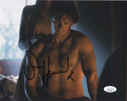 Sam heughan Outlander Autographed Signed 8x10 Photo JSA COA #7