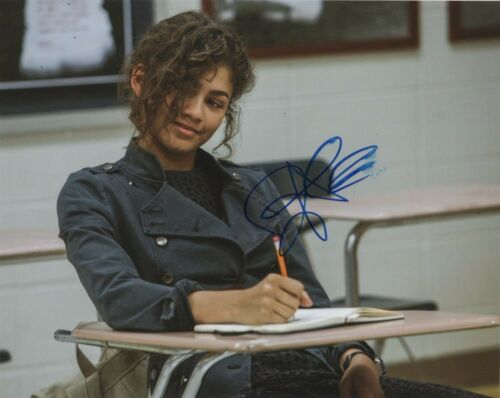 Zendaya Spiderman Autographed Signed 8x10 Photo COA #A15
