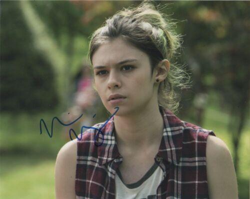Nicole Maines Supergirl Autographed Signed 8x10 Photo COA E5Q