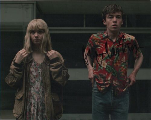 Alex Lawther It's the End of the World Autographed Signed 8x10 Photo COA E11