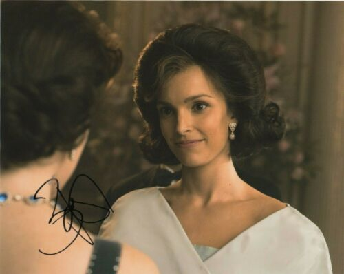 Jodi Balfour The Crown Autographed Signed 8x10 Photo COA 2019-2