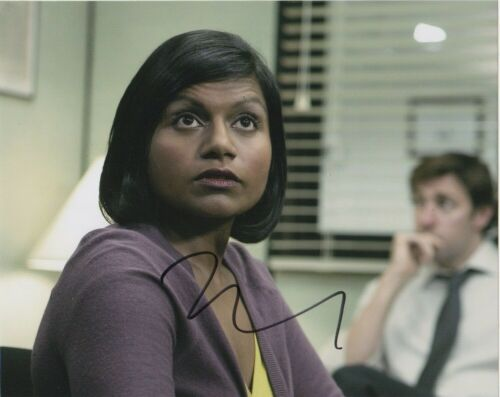 Mindy Kaling The Office Autographed Signed 8x10 Photo COA EF744