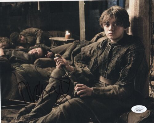 Maisie Williams Game of Thrones Autographed Signed 8x10 Photo JSA COA  #11
